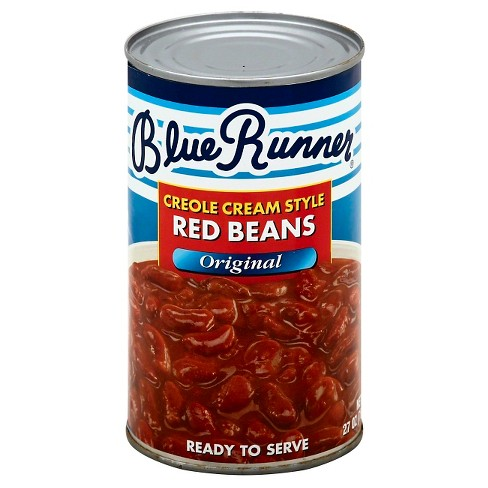 Blue Runner Red Creole Cream Style Beans - 27oz - image 1 of 3