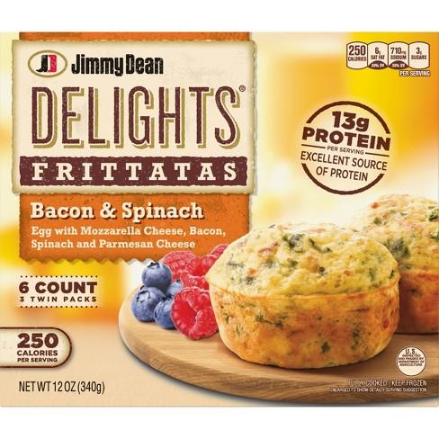 Jimmy Dean Delights Frozen Bacon &
