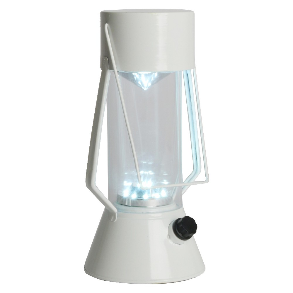 Led Outdoor Metal Lantern - White - Room Essentials