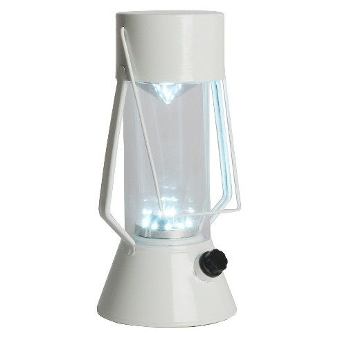 LED Outdoor Metal Lantern - White - Room Essentials™ - image 1 of 2