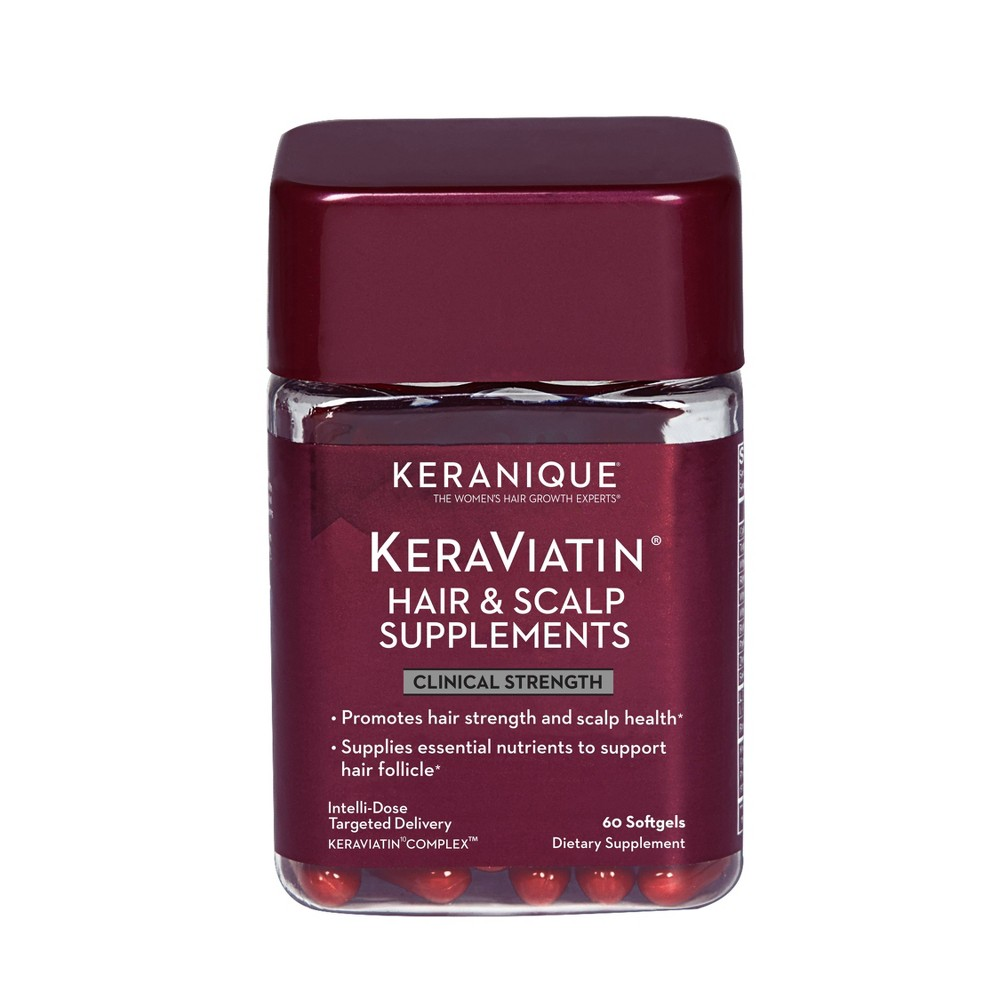 Image of Keranique KeraViatin Hair & Scalp Supplements - 60ct
