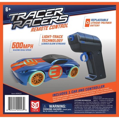 SKULLDUGGERY Tracer Racer RC Car and Controller - Blue