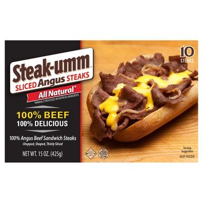Steak-umm Sliced Angus Steaks - 15oz