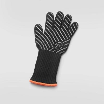 L-XL Professional High Temp Grill Glove Black - Outset