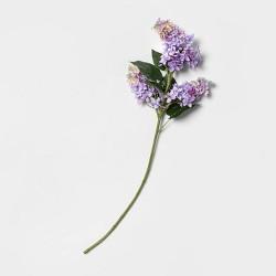 "24"" Artificial Lilac Stem Purple/Green - Threshold™"