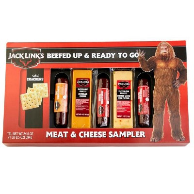 Jack Link's Summer Sausage, Meat & Cheese Sampler Gift Box