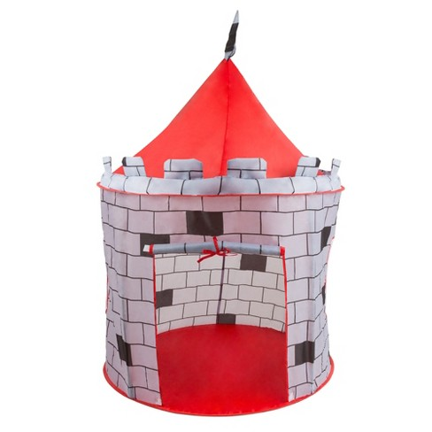 Hey! Play! Indoor/Outdoor,Pop Up Playhouse - Knight Castle - image 1 of 5
