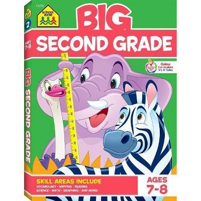 Big Second Grade Workbook - (Big Workbook) (Paperback) : Target