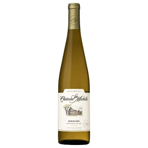 Chateau Ste Michelle Riesling White Wine - 750ml Bottle - image 1 of 4