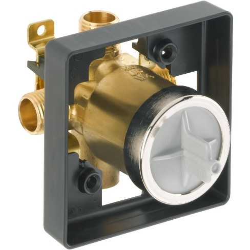 Delta R10000-UNBXHF Universal Mixing Rough-In Valve High-Flow Shower Only - image 1 of 4