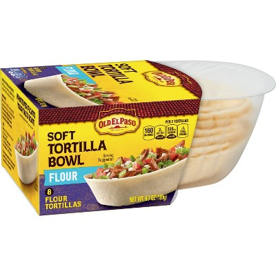 Mexican Meals & Taco Kits: Old El Paso Tortilla Bowls