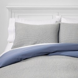Washed Waffle Weave Duvet Cover & Pillow Sham Set - Threshold™
