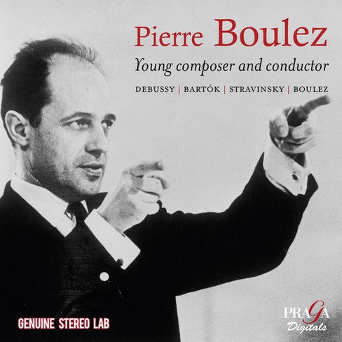 Yehudi menuhin - Boulez:Young composer & conductor (CD) - image 1 of 1