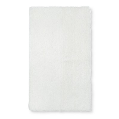 34 x20  Tufte Spa Bath Rug Cream - Fieldcrest®