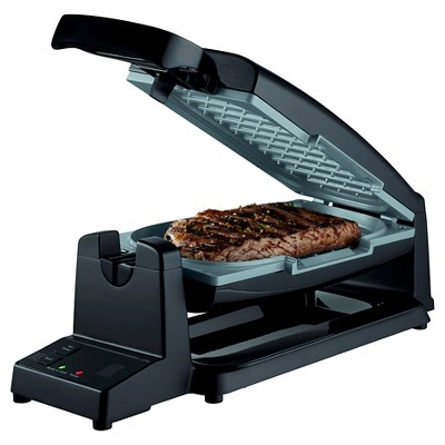Oster® 7-Minute Grill with Titanium Infused DuraCeramic™ Coating - Black CKSTCG20K-TECO