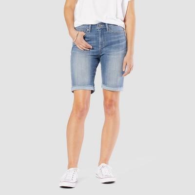 "DENIZEN® from Levi's® Women's Mid-Rise 9"" Bermuda Jean Shorts"