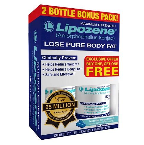 Lipozene Maximum Strength Weight Loss Capsules 30ct 2pk Target