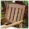 Belize Meranti Adjoined 2-Seater - Cream & Honey Oak - Christopher Knight Home - image 3 of 4