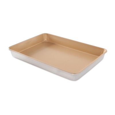 Nordic Ware Natural Aluminum Non-Stick Commercial High-Side Sheet Cake Pan