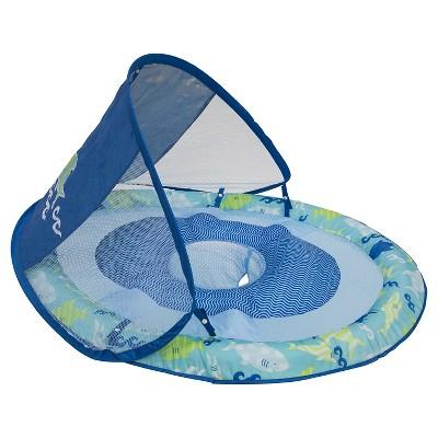 Baby Spring Float Sun Canopy - Blue Shark