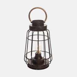 "11.5"" Firefly LED Outdoor Lantern - Foreside Home & Garden"