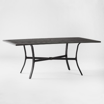 Charmant Chester Aluminum Rectangle Patio Dining Table   Threshold™ : Target