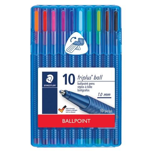 10ct Ballpoint Pens in Case - Staedtler - image 1 of 3