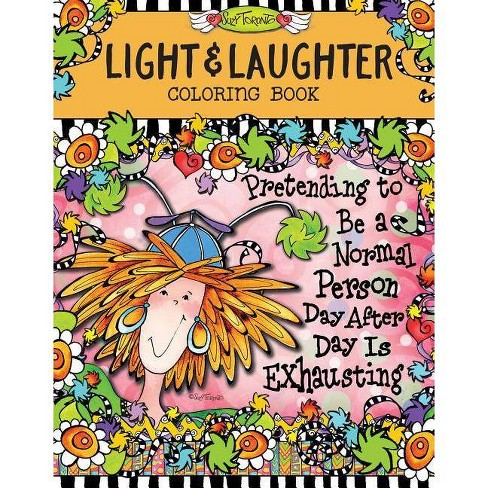Light & Laughter Coloring Book - by  Suzy Toronto (Paperback) - image 1 of 1