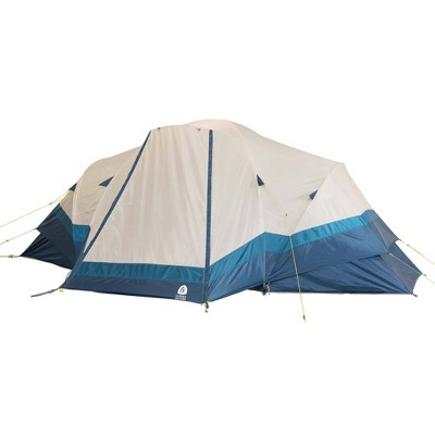 Sierra Designs Aspen Meadow 8 Person Dome Tent - Blue