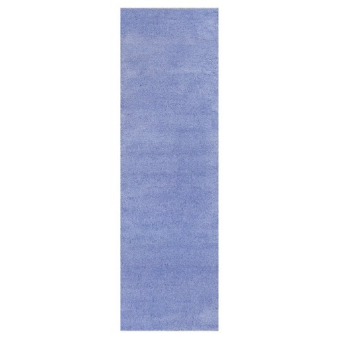 Bliss Purple Shag Woven Rug - KAS - image 1 of 1