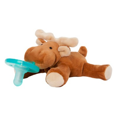 WubbaNub Moose Pacifier - Brown