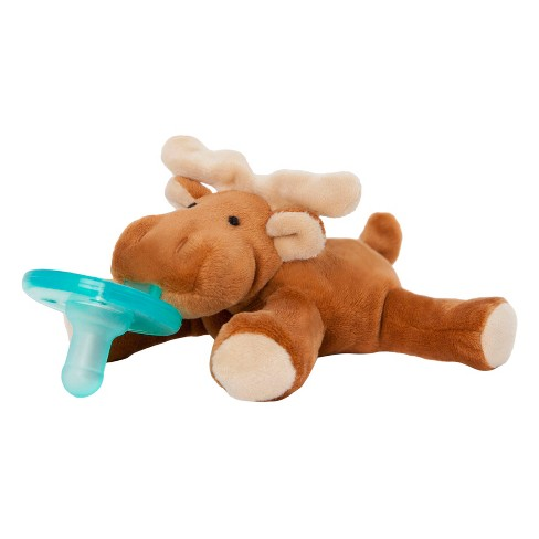 WubbaNub® Moose Pacifier - Brown - image 1 of 2