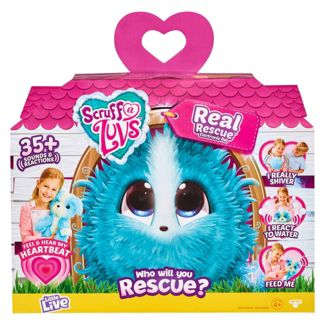 Little Live Scruff-a-Luvs Real Rescue Electronic Pet - Blue
