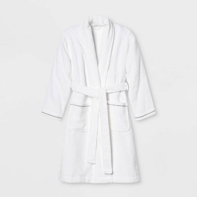 Spa Bath Robe White - Threshold Signature™