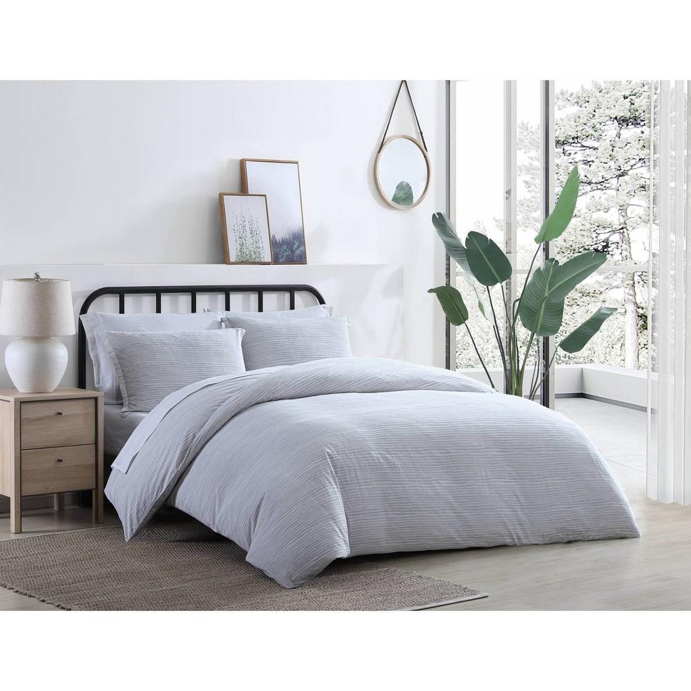 Twin Oshun Comforter 38 Sham Set Gray Azalea Skye