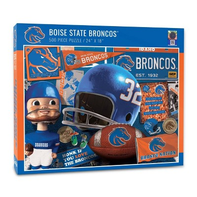 NCAA Boise State Broncos Throwback Puzzle 500pc