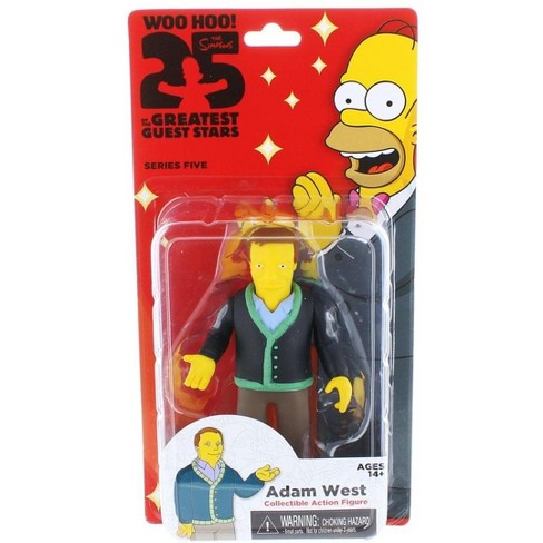 "The Simpsons 25th Anniversary 5/"" Series 4 Guest Stars Weird Al"