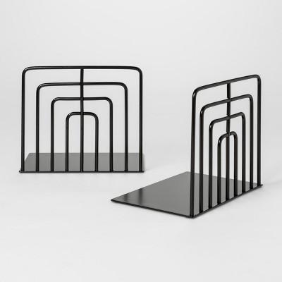 Decorative Wire Bookend - Black - Project 62™