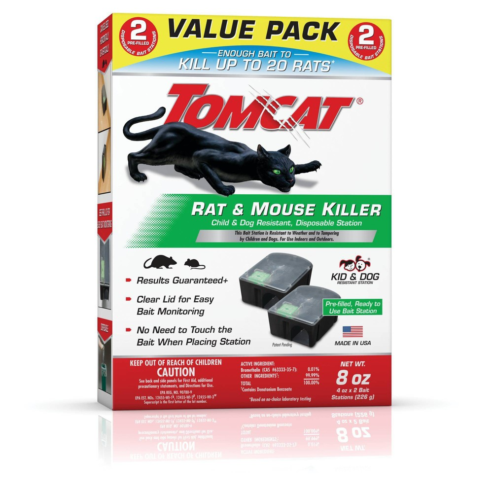Image of Tomcat Rat & Mouse Killer