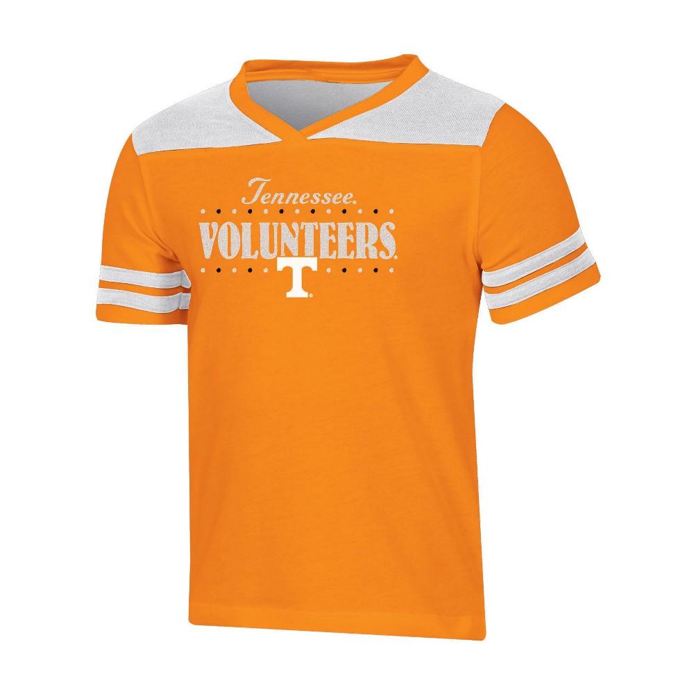NCAA Girls' Heather Fashion T-Shirt Tennessee Volunteers - M, Multicolored