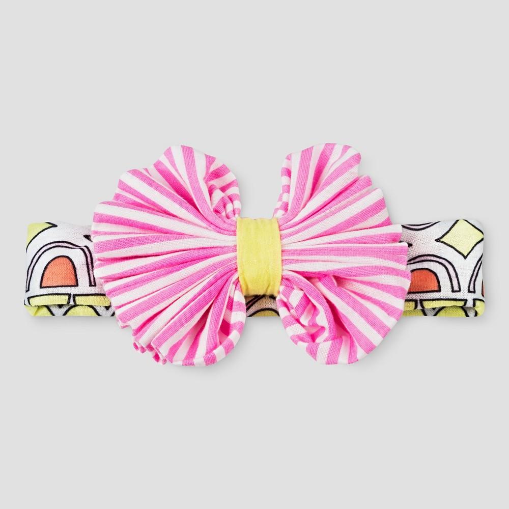 Toddler Girls' Printed Bow Headwrap Cat & Jack, Pink