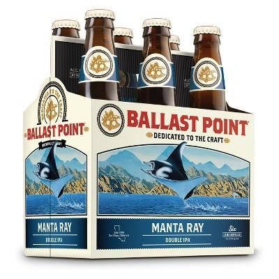 Ballast Point Manta Ray Double IPA - 6pk / 12 fl oz Bottles