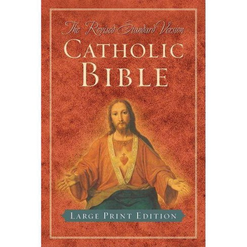 Catholic Bible-RSV-Large Print - (Hardcover) - image 1 of 1