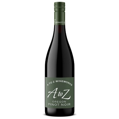A to Z Pinot Noir Red Wine - 750ml Bottle