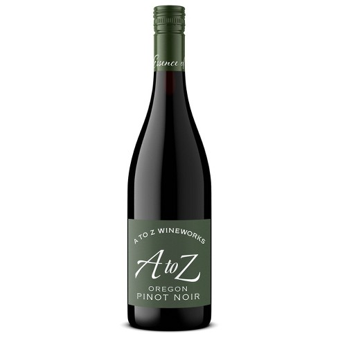 A to Z Pinot Noir Red Wine - 750ml Bottle - image 1 of 3