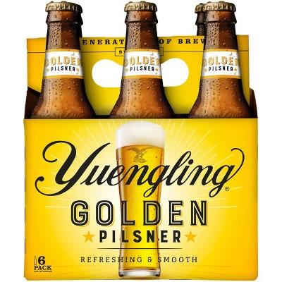 Yuengling Golden Pilsner Beer - 6pk/12 fl oz Bottles