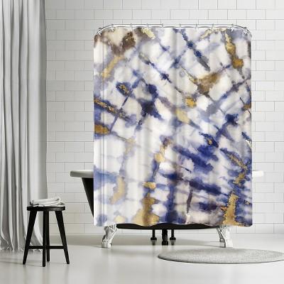 "Americanflat Tye Dye I by Pi Creative Art 71"" x 74"" Shower Curtain"