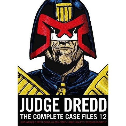 Judge Dredd: The Complete Case Files, Volume 12 - by  John Wagner (Paperback) - image 1 of 1