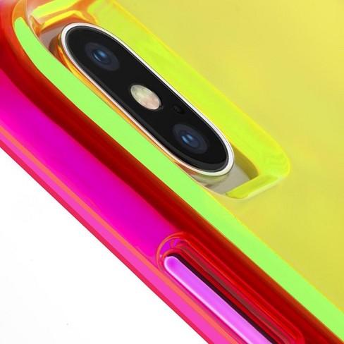 iphone xs case neon green