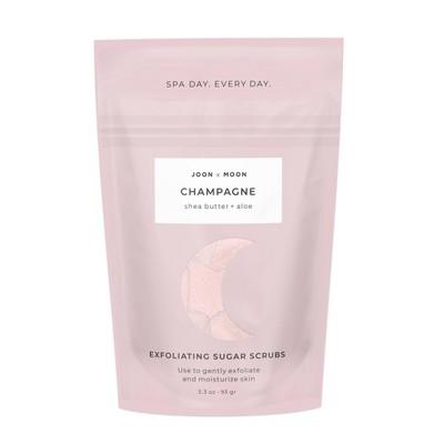Joon X Moon Champagne Sugar Cube Scrubs - 3.3oz